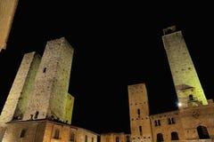 San Gimignano (Toscana) Immagini Stock