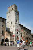 San Gimignano Toscana Immagini Stock