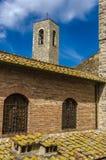 San Gimignano in Toscana, Italia fotografia stock libera da diritti