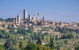 San Gimignano, Toscana, Italia Fotografía de archivo libre de regalías