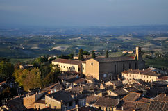 San Gimignano, Toscana, Italia Fotografia Stock Libera da Diritti