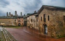 San Gimignano, Toscane Images libres de droits