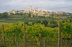 San Gimignano, Toscane, Italie photos stock