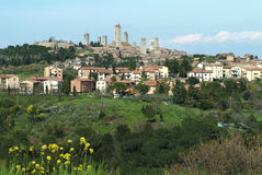 San Gimignano, Toscane, Italie photographie stock