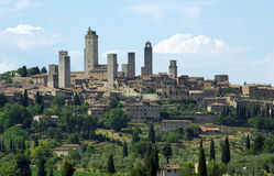 San Gimignano - Toscanië, Italië Royalty-vrije Stock Afbeeldingen