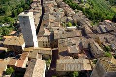 San Gimignano, Toscanië, Italië Royalty-vrije Stock Afbeeldingen