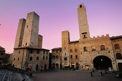 San Gimignano (Toskana) Lizenzfreie Stockfotos