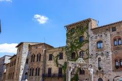 San Gimignano, Toskana Stockfotos