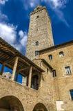 San Gimignano in Toskana, Italien lizenzfreies stockfoto