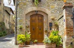 San Gimignano - Toskana, Italien stockfotografie