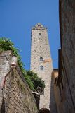 San Gimignano Tower Stock Photography
