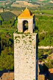 San Gimignano Tower Stock Photo