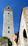 San Gimignano tower, Tuscany, Italy royalty free stock photo