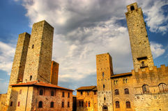 San Gimignano'  towers Stock Photo