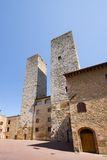 San Gimignano towers Stock Images