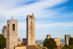 San Gimignano towers Royalty Free Stock Photo