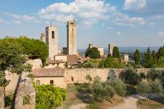 San Gimignano towers Stock Photography
