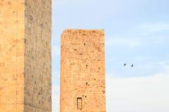 San Gimignano towers. Tuscany, Italy, Europe Royalty Free Stock Photo