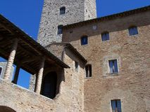 San Gimignano - Town hall Royalty Free Stock Images