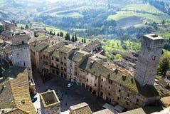 San Gimignano - Tuscan italy fotografia de stock royalty free