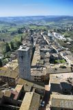 San Gimignano - Tuscan italy Stock Image