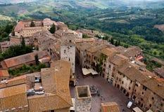 San Gimignano,Tuscany stock image