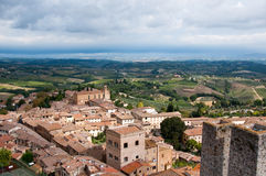 San Gimignano,Tuscany Stock Photo
