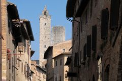 San Gimignano in Tuscany Royalty Free Stock Photo
