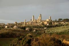 San Gimignano (Tuscany) Royalty Free Stock Photos
