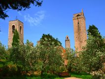 San Gimignano - Tuscany Stock Photo