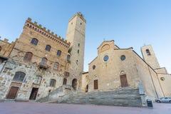San Gimignano Tuscany, Italien, Europa royaltyfria foton