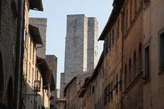 San Gimignano in Tuscany, Italy Royalty Free Stock Photo