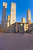 San gimignano, Tuscany, Italy. Royalty Free Stock Photo