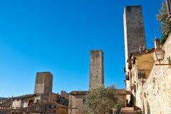 San gimignano, Tuscany, Italy. Stock Images