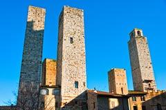 San gimignano, Tuscany, Italy. Stock Image