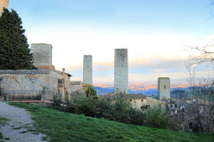 San Gimignano  Tuscany, Italy Stock Photo