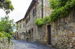 San Gimignano - Tuscany, Italy Stock Photos