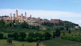 San Gimignano stock video