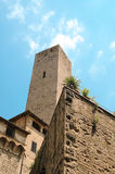 San Gimignano in Tuscany Italy Royalty Free Stock Images