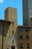 San Gimignano in Tuscany Italy Stock Photography