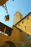San Gimignano in Tuscany Italy Royalty Free Stock Photography