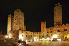 San Gimignano, Tuscany, Italy. Royalty Free Stock Images