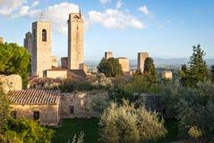 San Gimignano, Tuscany, Italy Royalty Free Stock Photo