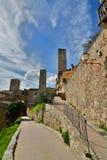 San Gimignano. Tuscany. Italy Stock Photos
