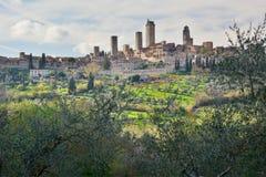 San Gimignano. Tuscany. Italy Royalty Free Stock Image
