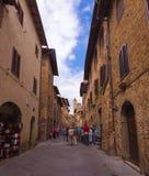 San Gimignano_ Tuscany, Italy Stock Photography