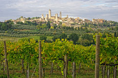 San Gimignano, Tuscany, Italy. Stock Photos