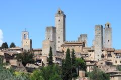 San Gimignano in Tuscany Royalty Free Stock Photos