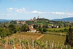 San Gimignano, Tuscany Royalty Free Stock Photos