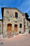 San Gimignano village in Tuscany Royalty Free Stock Image